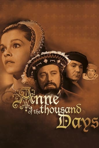 Anne of the Thousand Days (1969) - poster