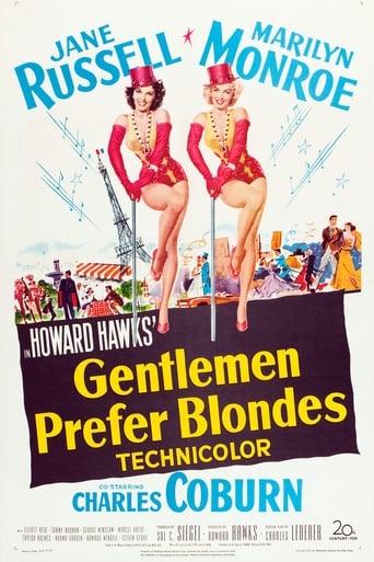 Poster of Gentlemen Prefer Blondes