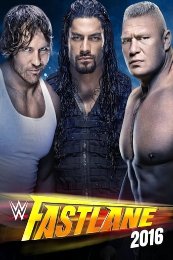 Poster of WWE Fastlane 2016