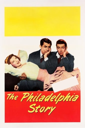 Official movie poster for The Philadelphia Story (1940)