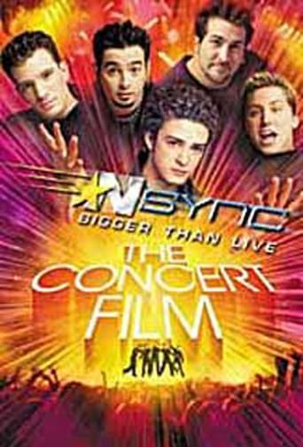Poster of 'N Sync: Bigger Than Live