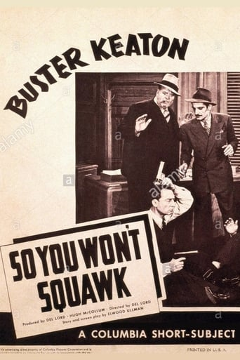 Poster of So You Won't Squawk