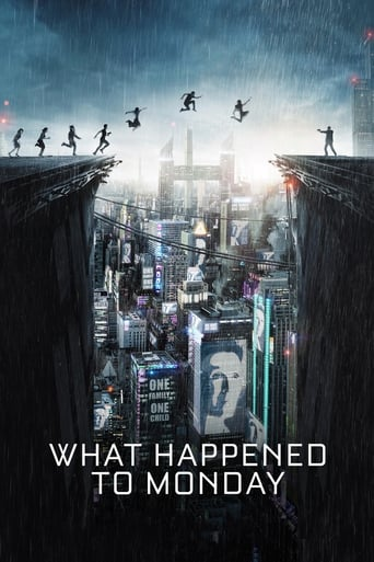 Official movie poster for What Happened to Monday (2017)