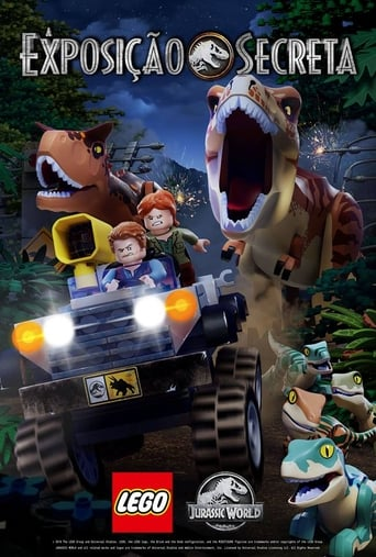 LEGO Jurassic World The Secret Exhibit - Poster
