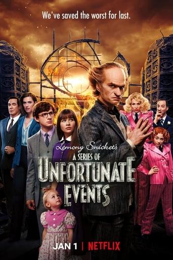 Lemony Snicket Desventuras em Série 3ª Temporada - Poster