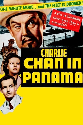 Poster of Charlie Chan in Panama