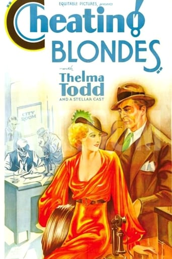 Poster of Cheating Blondes