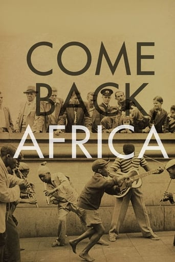 Watch Come Back, Africa Online Free Movie Now