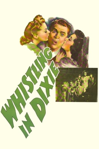 Poster of Whistling in Dixie