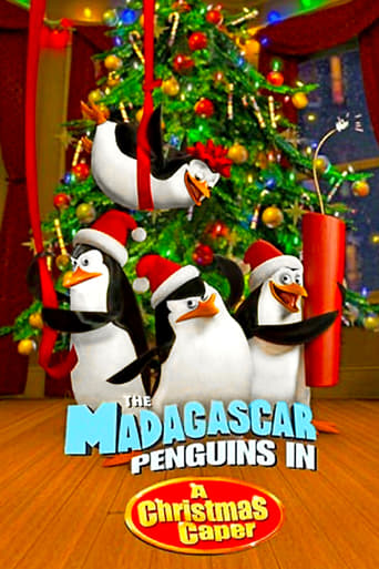 Poster of The Madagascar Penguins in a Christmas Caper