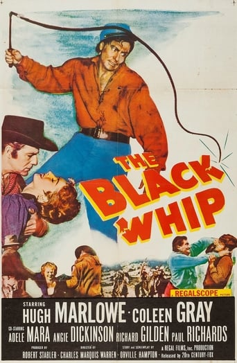 Poster of The Black Whip fragman