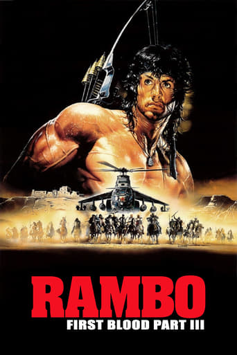 Official movie poster for Rambo III (1988)
