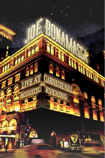 Poster of Joe Bonamassa: Live at Carnegie Hall - An Acoustic Evening