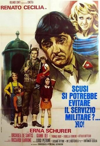 Watch Scusi, si potrebbe evitare il servizio militare?... No! 1974 full online free