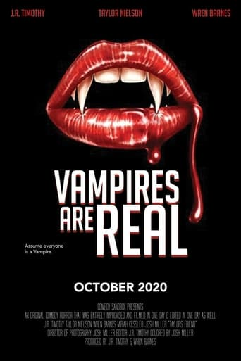 Vampires Are Real Poster