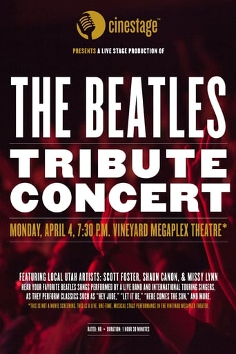 Cinestage presents: The Beatles Tribute Concert poster