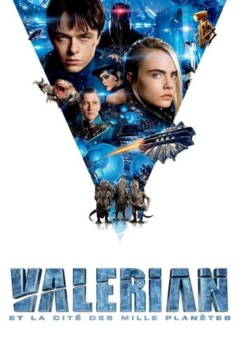 Poster of Valérian et la Cité des mille planètes