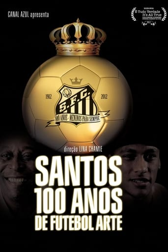 Poster of Santos, 100 Years of Playful Soccer