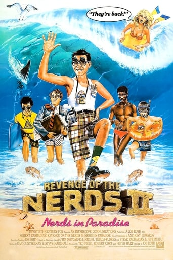 Poster of Revenge of the Nerds II: Nerds in Paradise