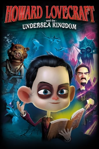 Poster of Howard Lovecraft & the Undersea Kingdom