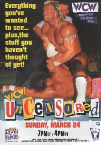 Poster of WCW Uncensored 1996