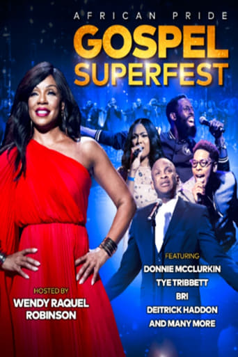Poster of The African Pride Gospel Superfest