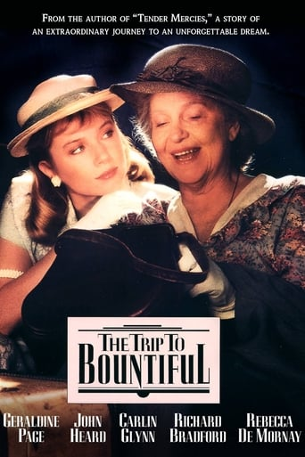 Poster of The Trip to Bountiful
