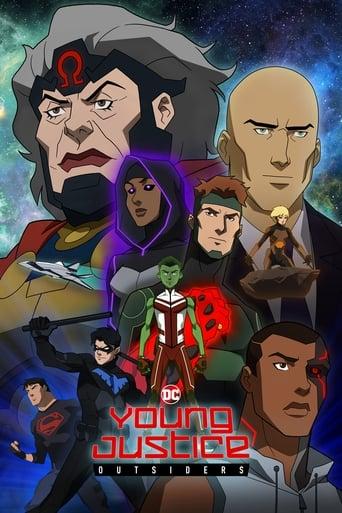 portada La joven Liga de la Justicia