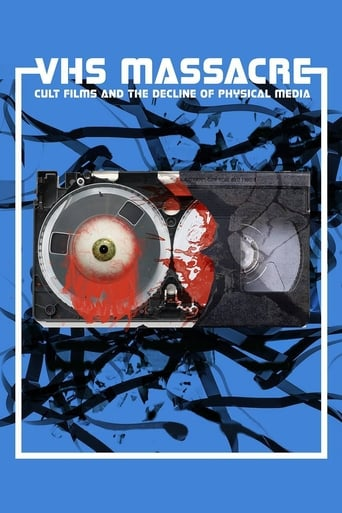 Poster of VHS Massacre: Cult Films and the Decline of Physical Media