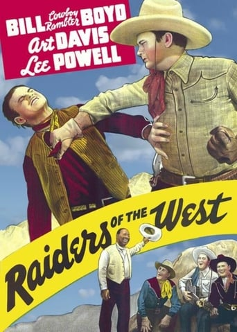 Poster of Raiders of the West