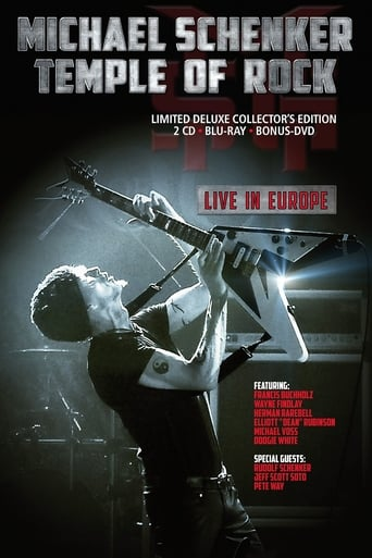 Michael Schenker: Temple Of Rock Live In Europe
