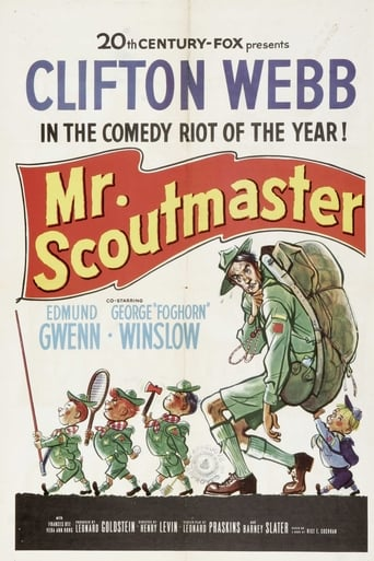 Poster of Mister Scoutmaster