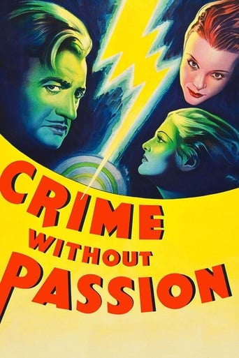 Poster of Crime Without Passion