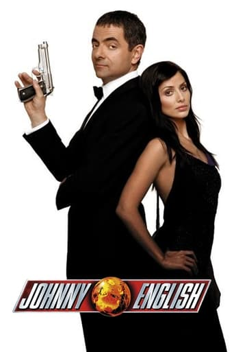 Official movie poster for Johnny English (2003)