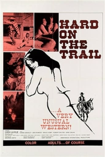 Poster of Hard on the Trail