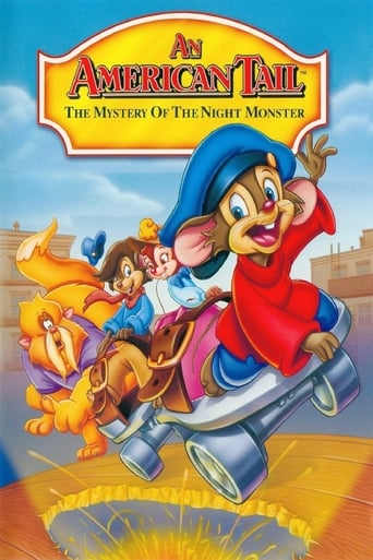 Poster of An American Tail: The Mystery of the Night Monster