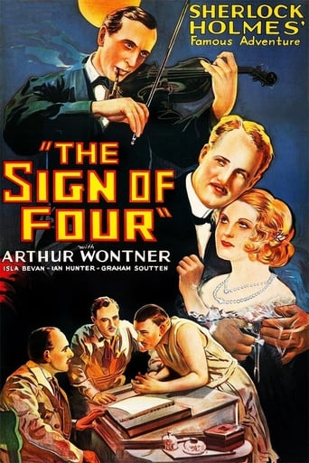 Poster of The Sign of Four: Sherlock Holmes' Greatest Case