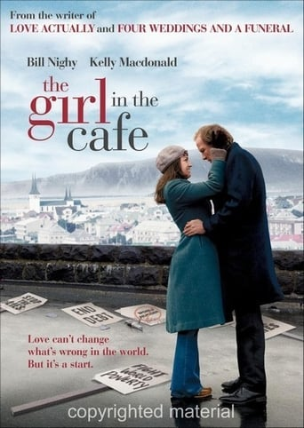 The Girl in the Café Movie Poster