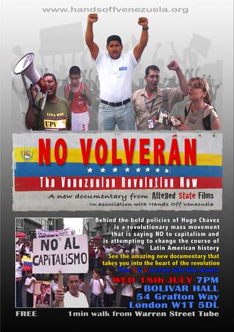 No Volverán: The Venezuelan Revolution Now