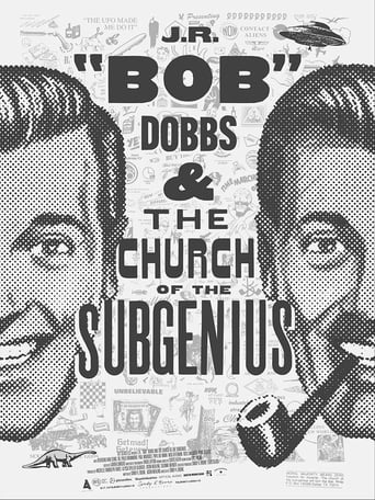 """Poster of J.R. """"Bob"""" Dobbs and The Church of the SubGenius"""