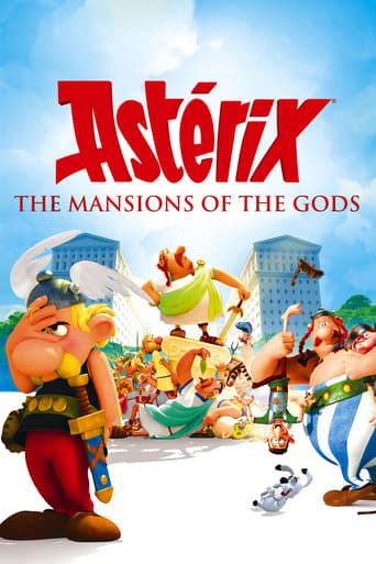 Poster of Asterix: The Mansions of the Gods