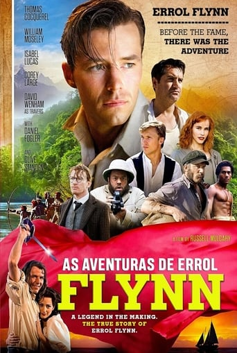 As Aventuras de Errol Flynn - Poster