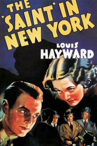 Poster of The Saint in New York