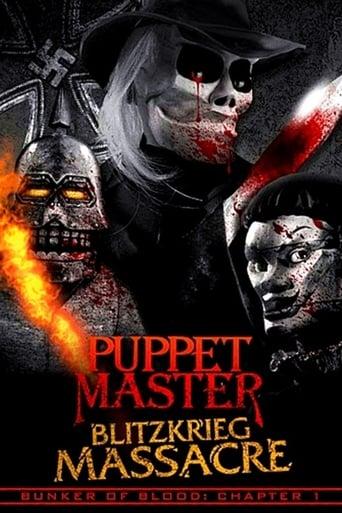 poster of Puppet Master: Blitzkrieg Massacre