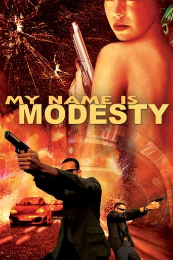 Poster of My Name Is Modesty: A Modesty Blaise Adventure