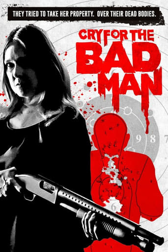 Poster Cry for the Bad Man