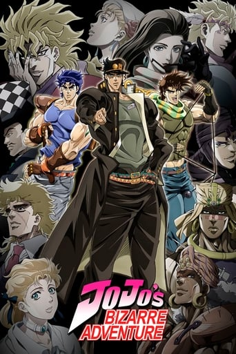 Poster of JoJo's Bizarre Adventure