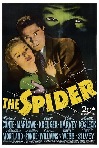 The Spider Movie Poster