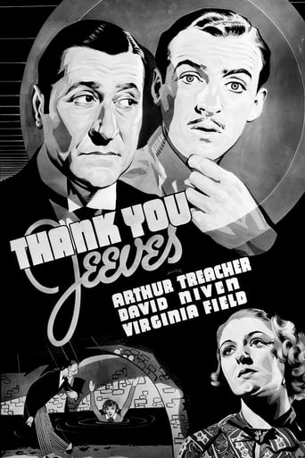 Poster of Thank You, Jeeves!