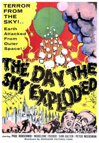 Poster of The Day the Sky Exploded